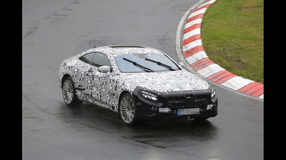 Erlkönig Mercedes S-Klasse Coupe