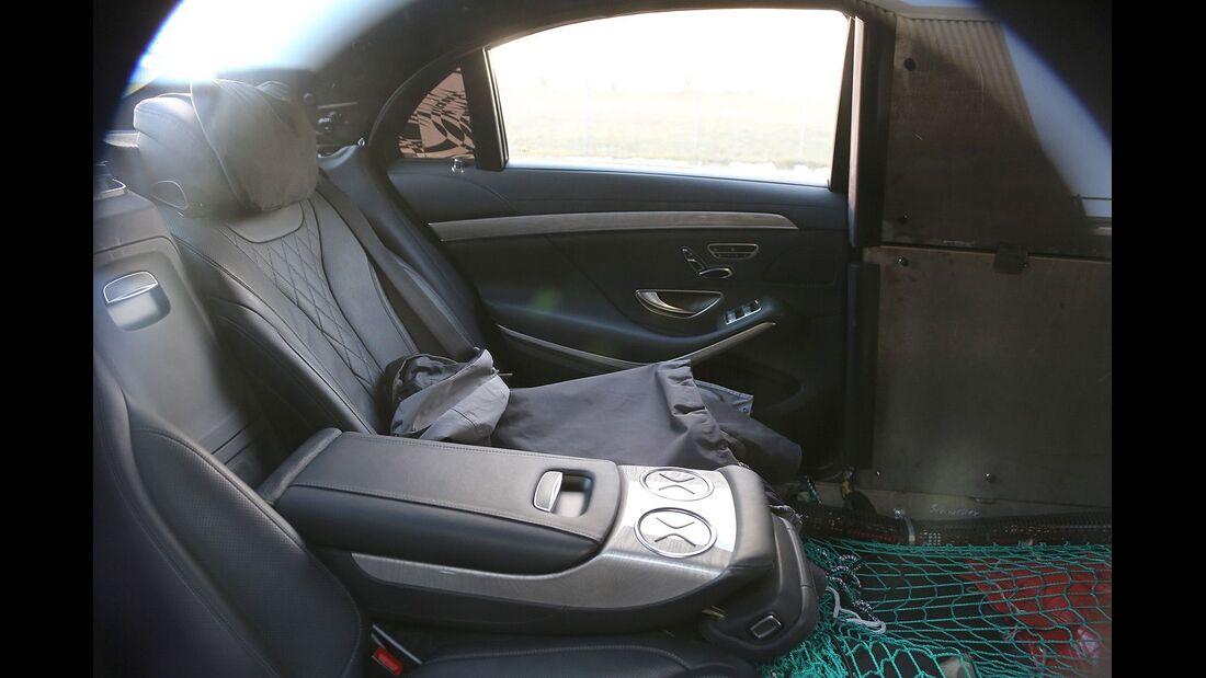 Erlkönig Mercedes S-Klasse Pullman