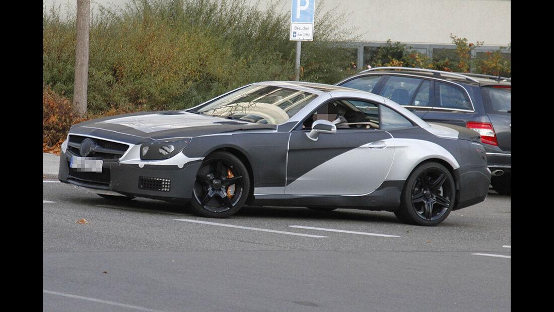 Erlkönig Mercedes SL AMG