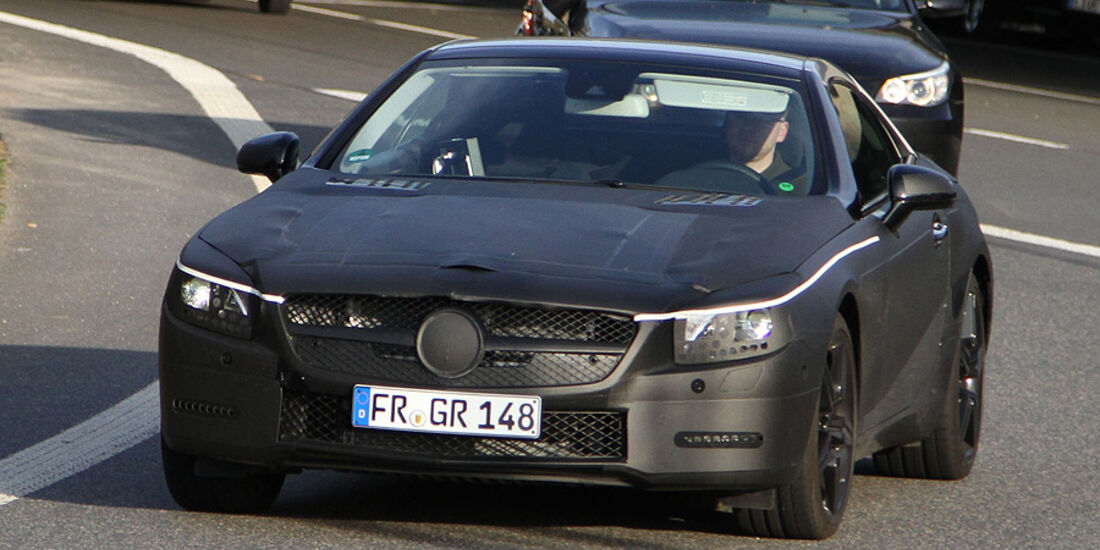 Erlkönig Mercedes SL