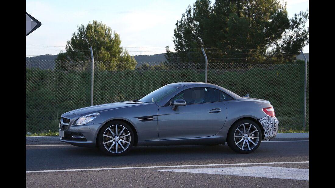 Erlkönig Mercedes SLC