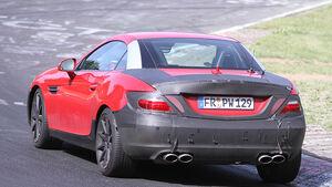 Erlkönig Mercedes SLK AMG
