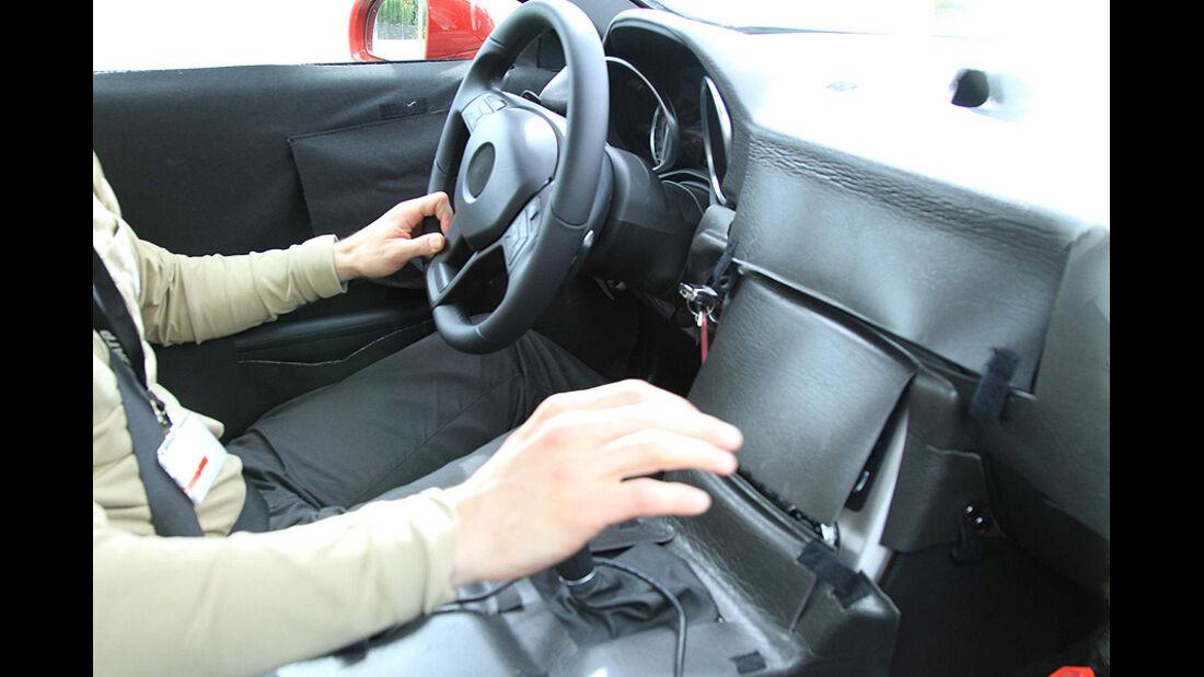 Erlkönig Mercedes SLK Innenraum