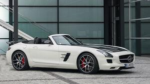 Erlkönig Mercedes SLS