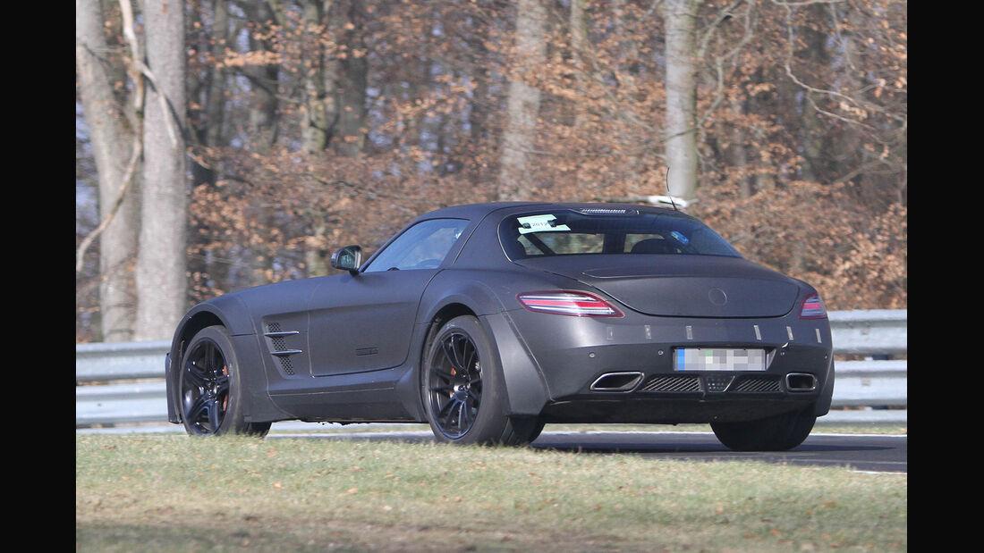 Erlkönig Mercedes SLS AMG Black Series