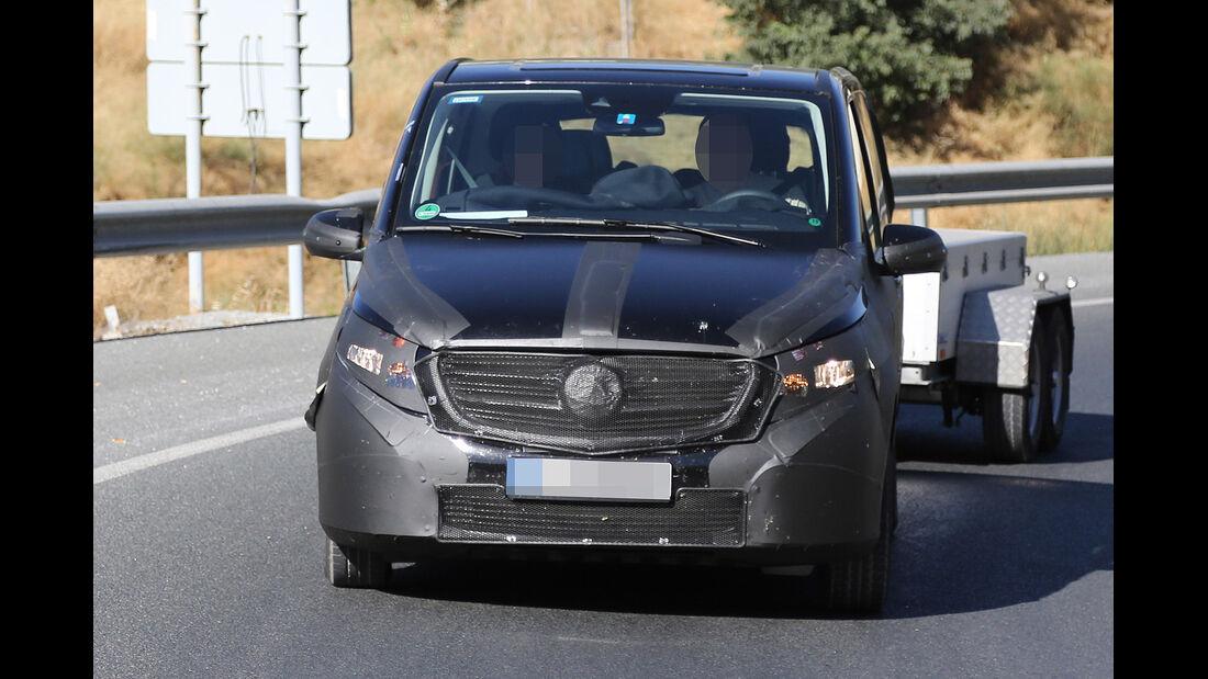 Erlkönig Mercedes V-Klasse