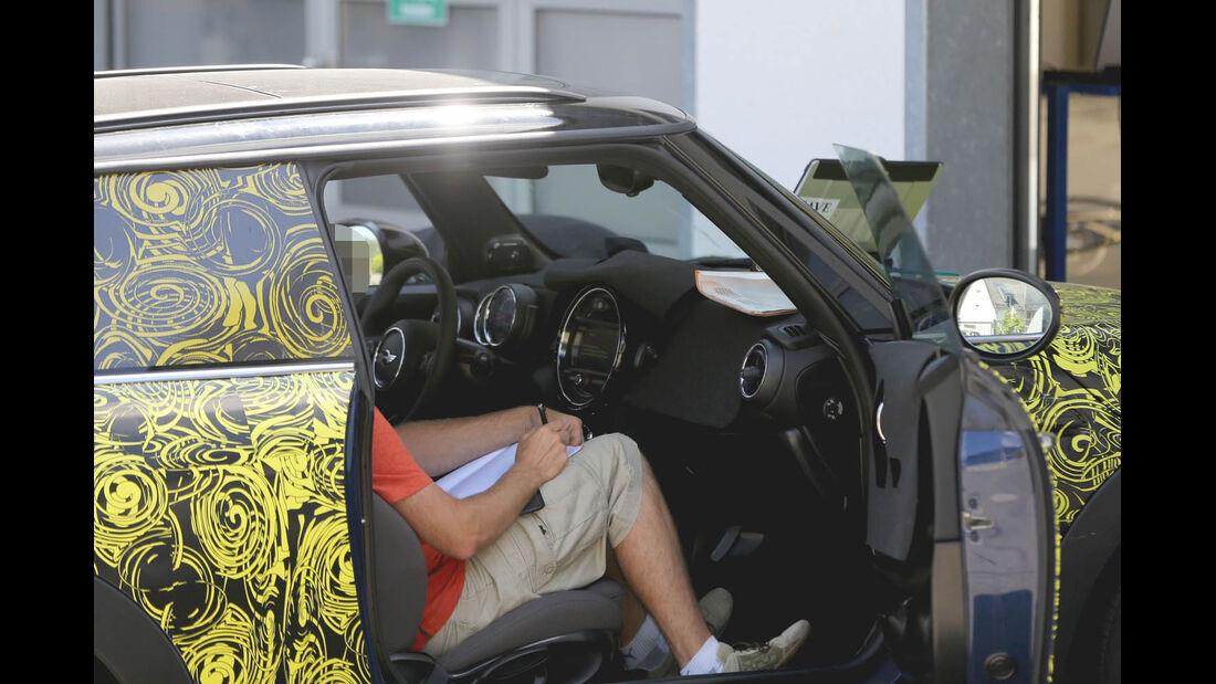 Erlkönig Mini Cooper S, Innenraum