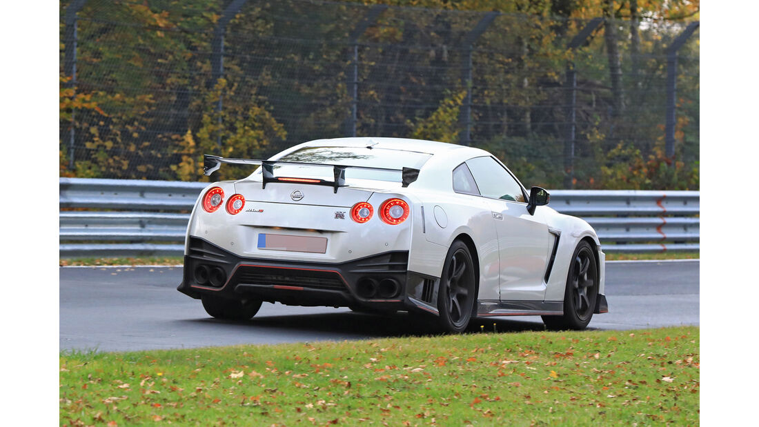 Erlkönig Nissan GT-R Nismo