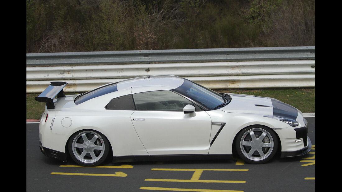 Erlkönig Nissan GT-R Rennversion