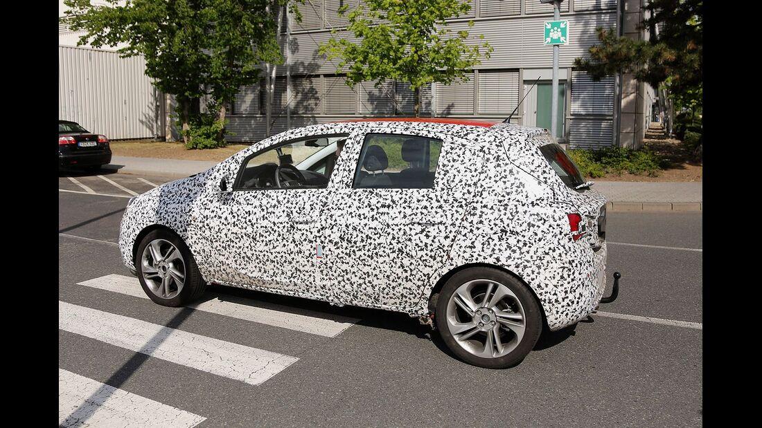 Erlkönig Opel Corsa 5-Türer