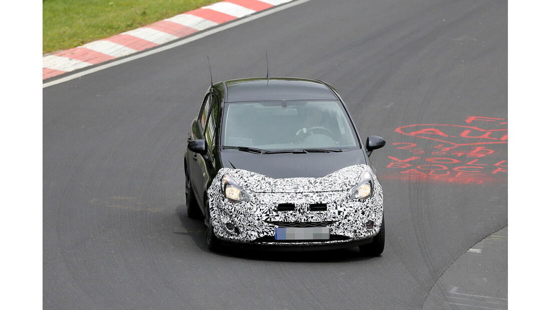 Erlkönig Opel Corsa Facelift