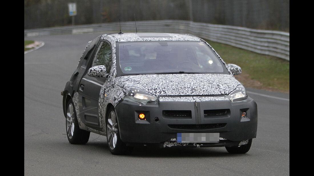 Erlkönig Opel Junior Opel Adam