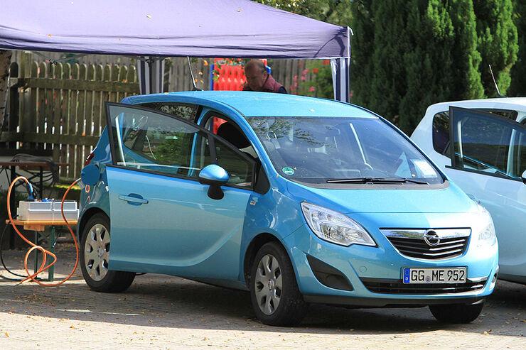 Erlkönig Opel Meriva Meregio BEV