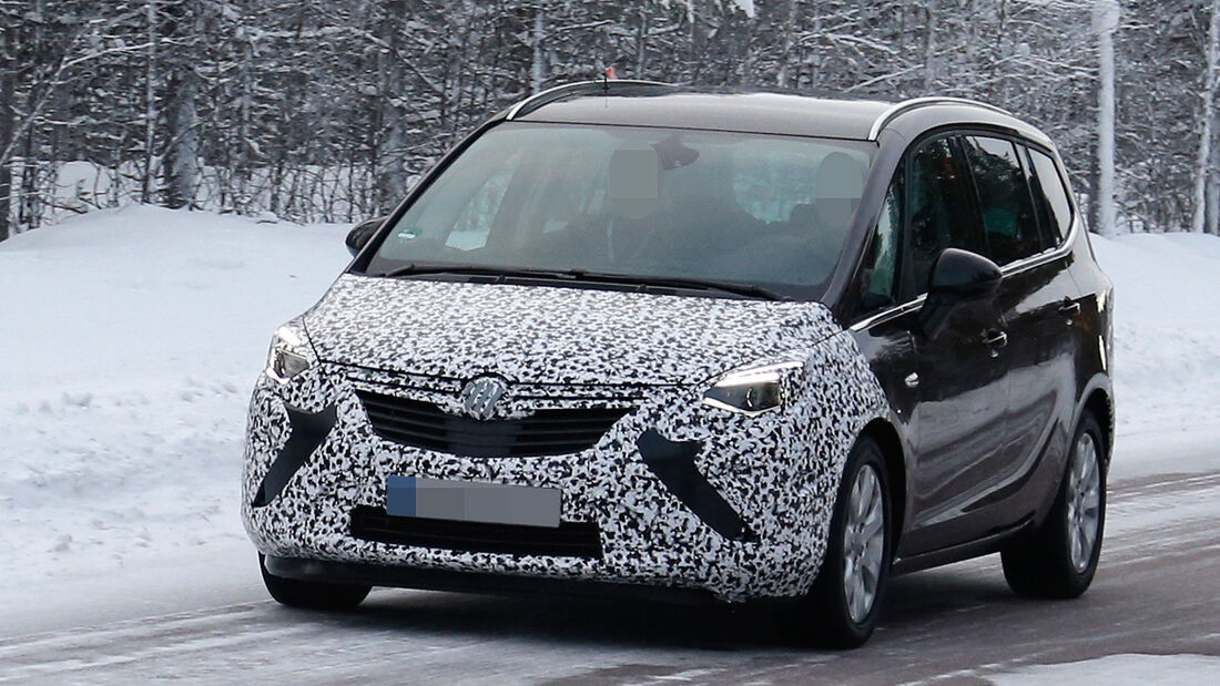 Erlkönig Opel Zafira Facelift