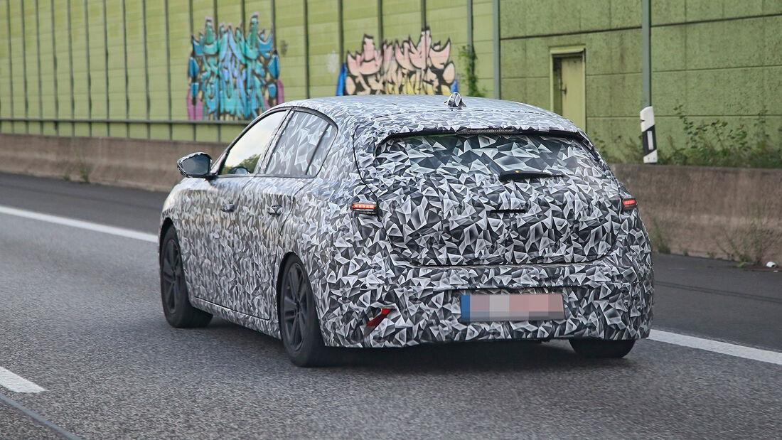 Erlkönig Peugeot 308