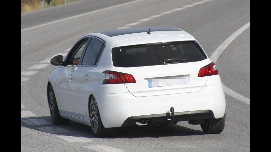Erlkönig Peugeot 308 GTI