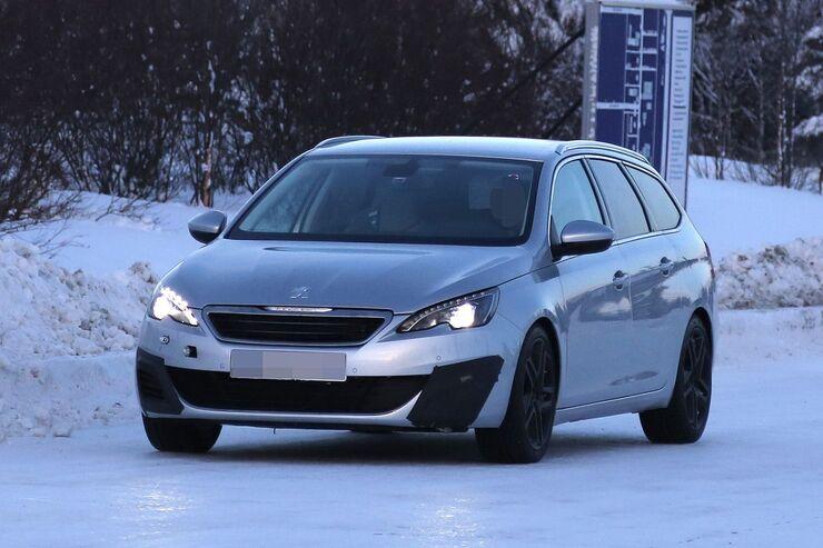 Erlkönig Peugeot 308 SW GTI