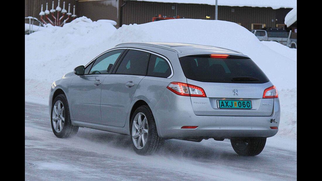 Erlkönig Peugeot 508 Allroad
