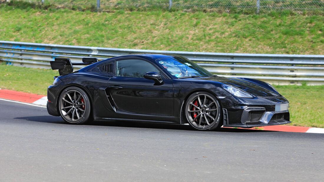 Erlkönig Porsche 718 Cayman GT4 RS