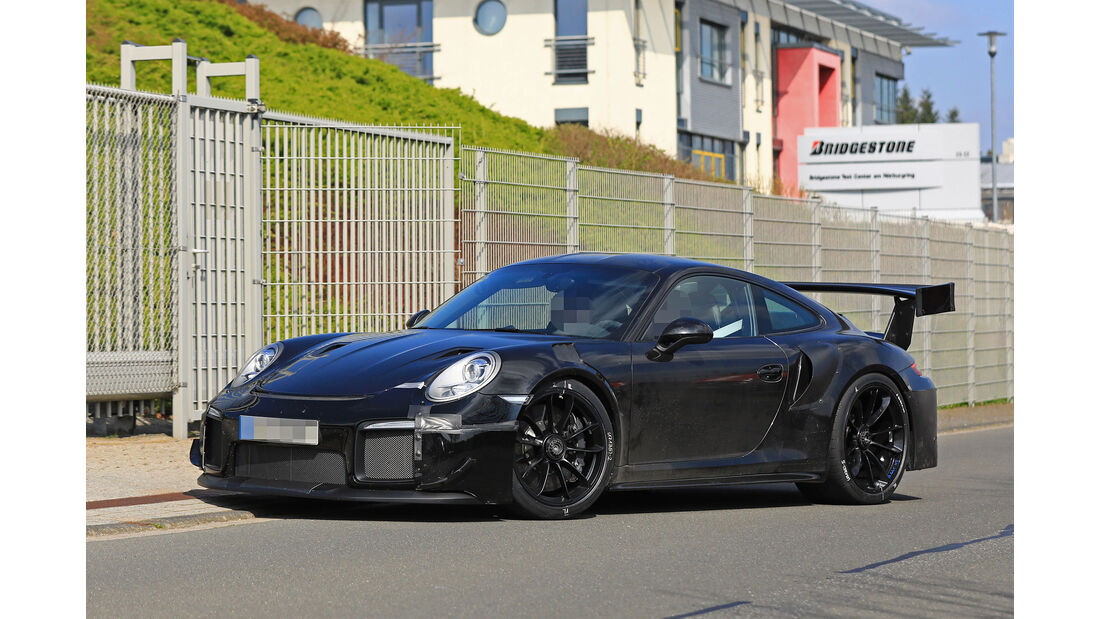 Erlkönig Porsche 911 GT2