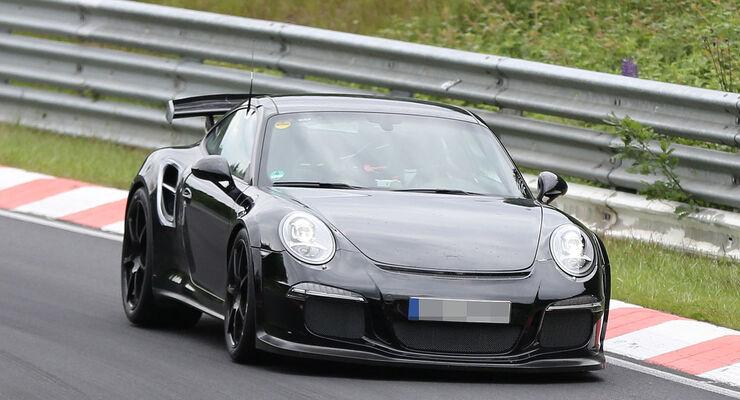 Erlkönig Porsche 911 GT2 Typ 991