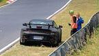Erlkönig Porsche 911 GT3 Panne Nürbungring