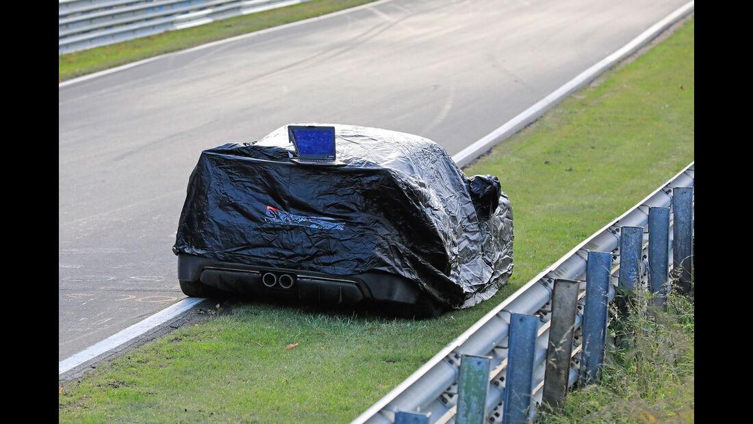 Erlkönig Porsche 911 GT3 Unfall