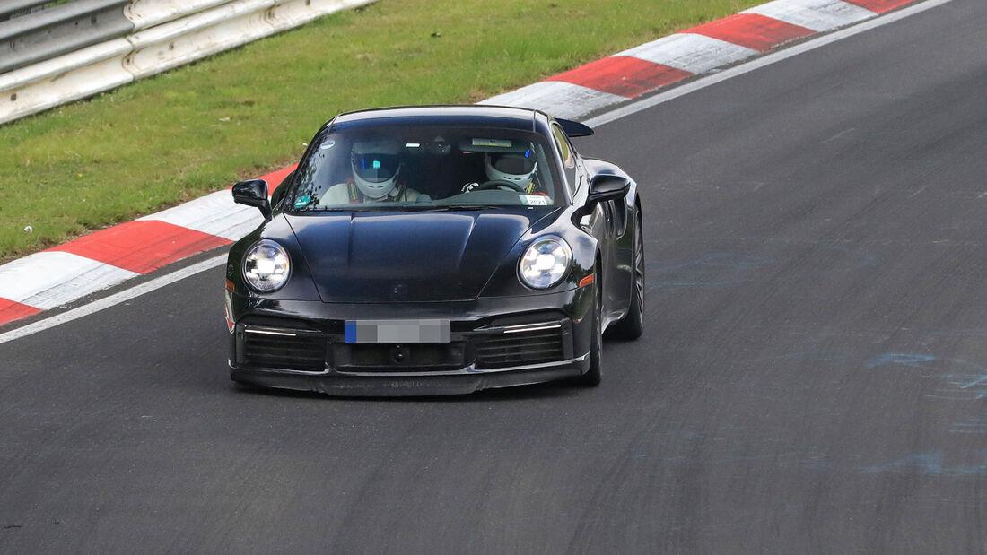 Erlkönig Porsche 911 Híbrido