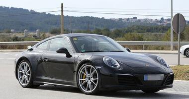 Erlkönig Porsche 911 Muletto