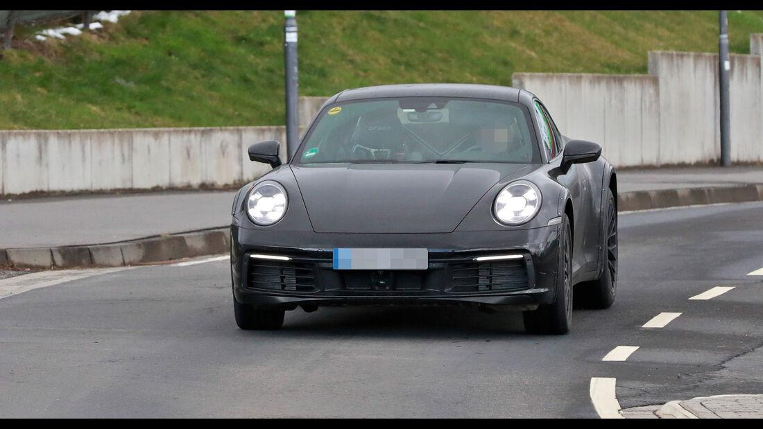 Erlkönig Porsche 911 Safari