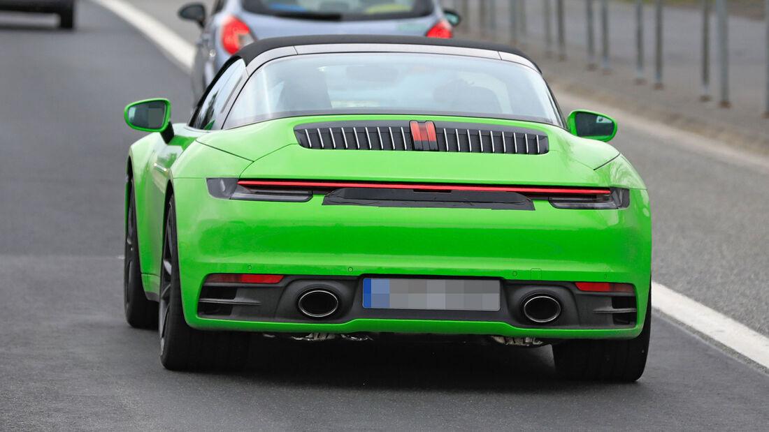 Erlkönig Porsche 911 Targa