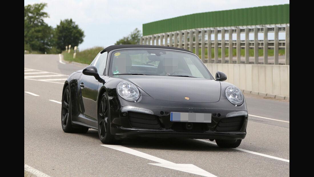 Erlkönig Porsche 911 Targa GTS