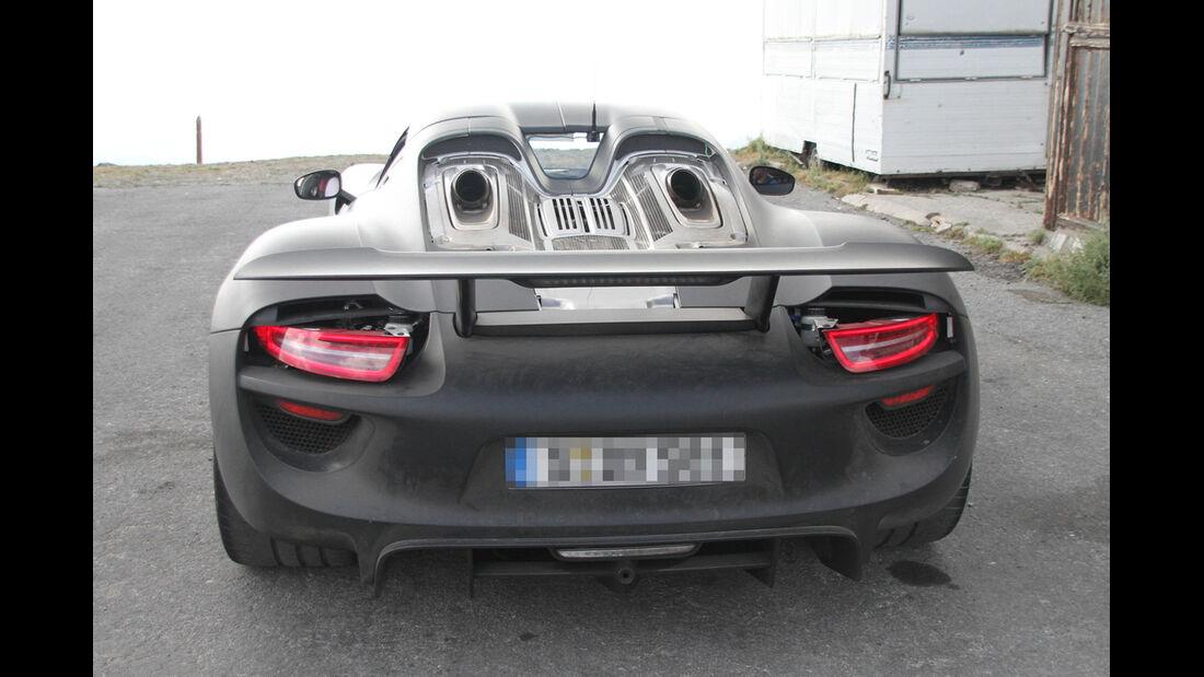 Erlkönig Porsche 918 Spyder