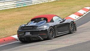 Erlkönig Porsche Boxster 718 Spyder
