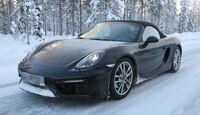 Erlkönig Porsche Boxster, Cayman GTS