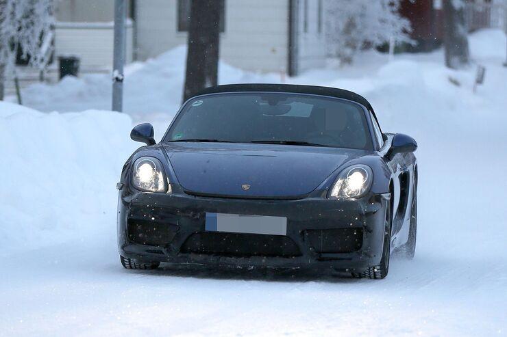 Erlkönig Porsche Boxster RS