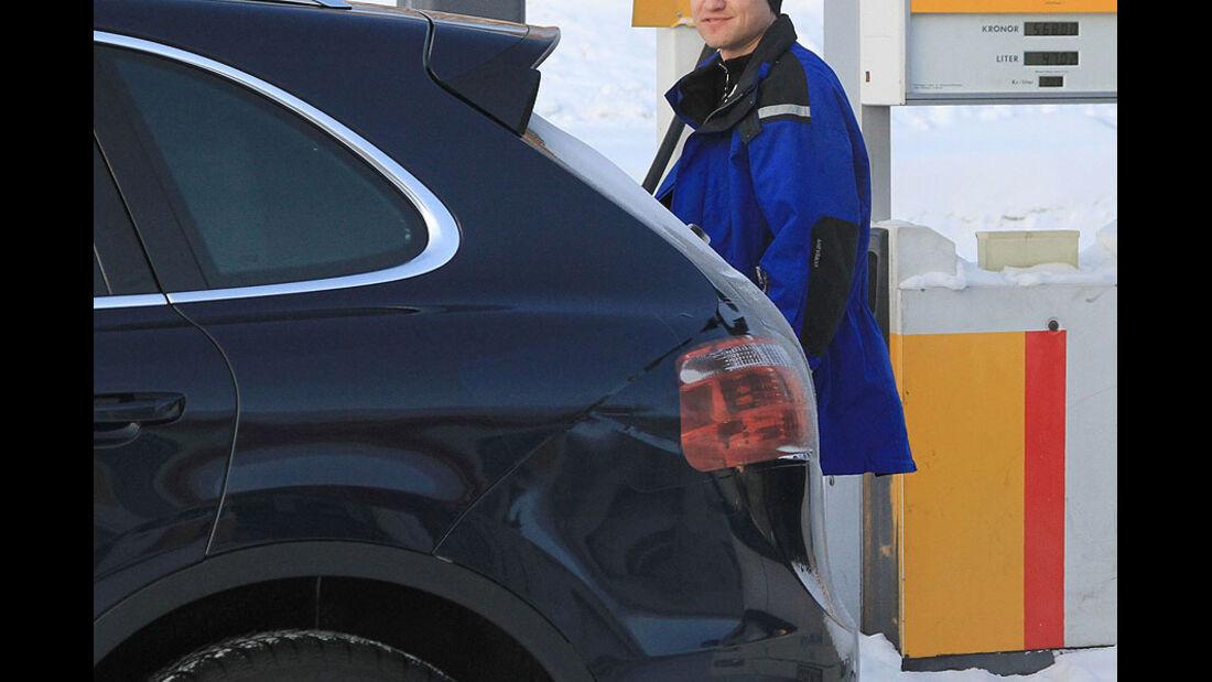 Erlkönig Porsche Cayenne