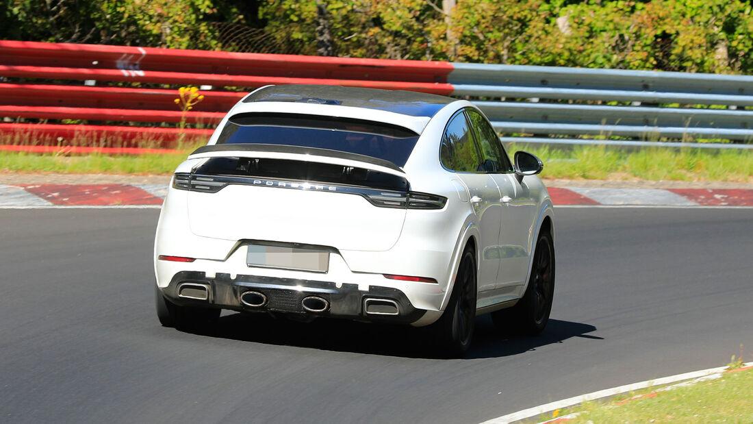 Erlkönig Porsche Cayenne Coupé GTS