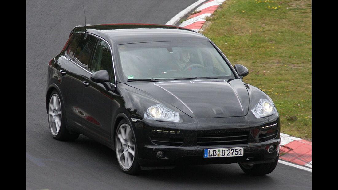 Erlkönig Porsche Cayenne Facelift