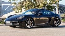 Erlkönig Porsche Cayman Facelift
