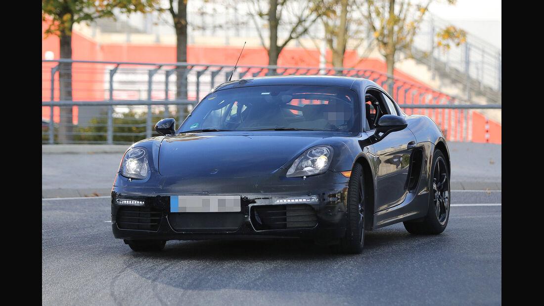 Erlkönig Porsche Cayman