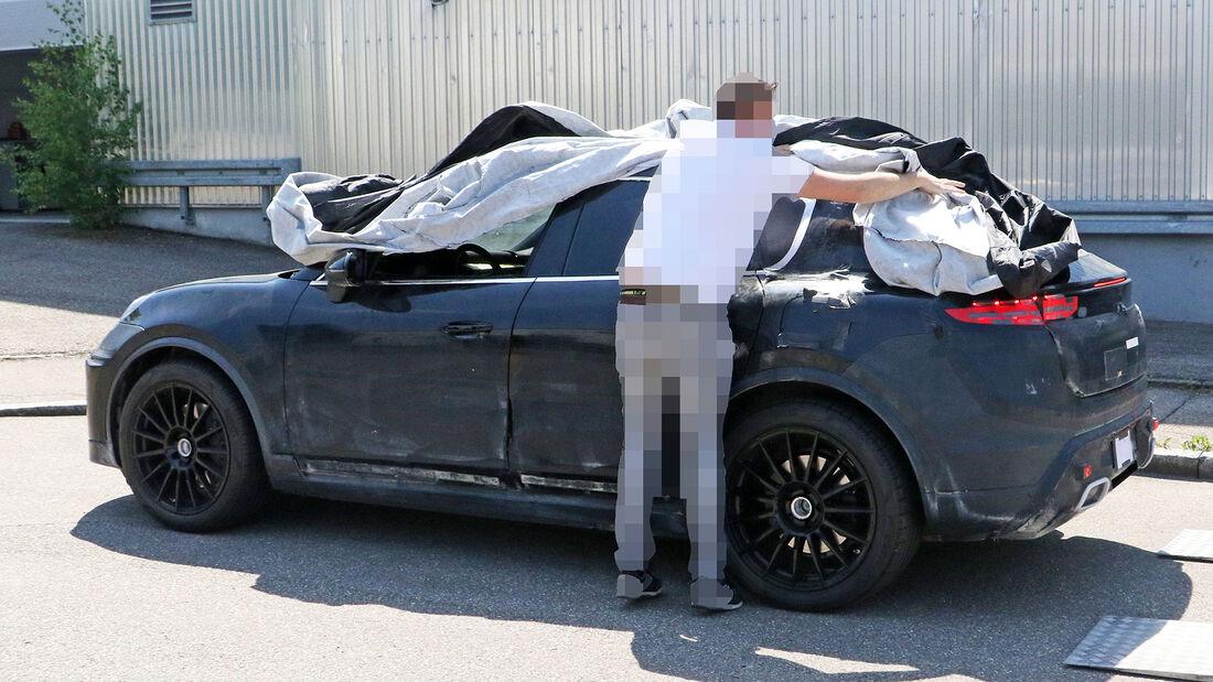 Erlkönig Porsche Macan EV