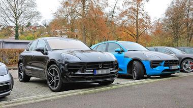 Erlkönig Porsche Macan Facelift