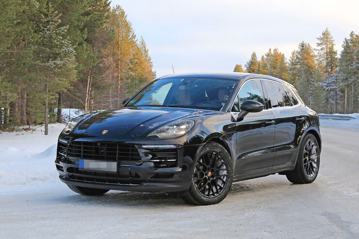 facelift porsche macan 2018 alle bilder infos daten. Black Bedroom Furniture Sets. Home Design Ideas