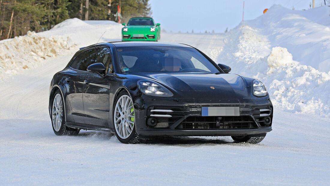Erlkönig Porsche Panamera Sport Turismo
