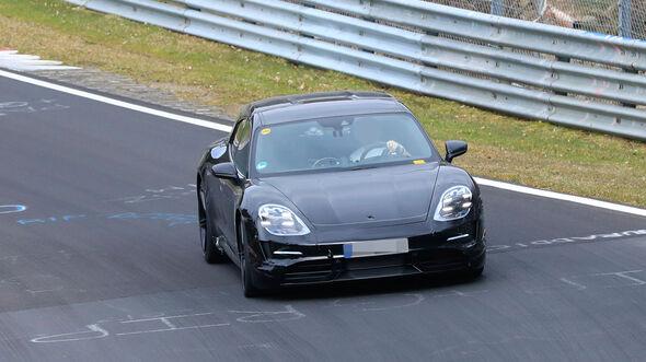 Erlkönig Porsche Taycan Cross Turismo