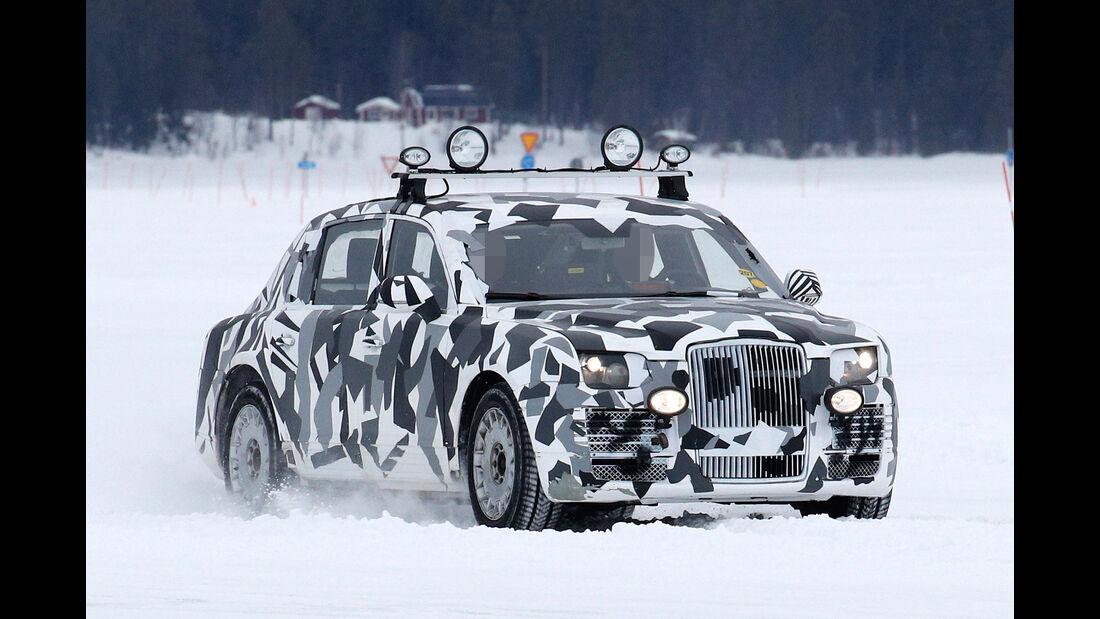 Erlkönig Projekt Kortezh Russland Putin Limousine