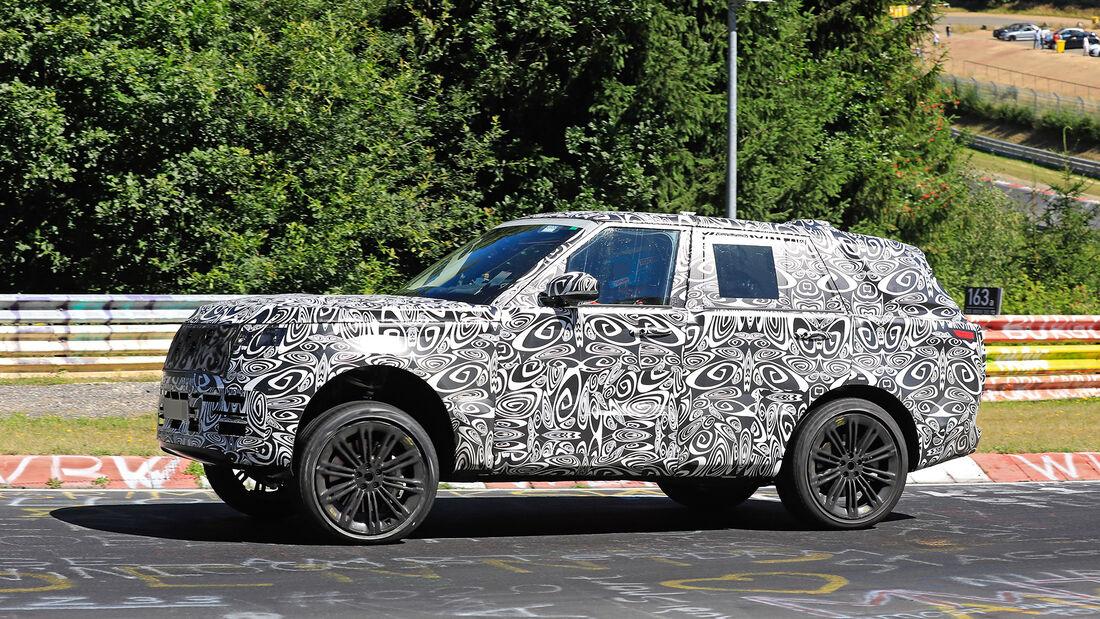 Erlkönig Range Rover