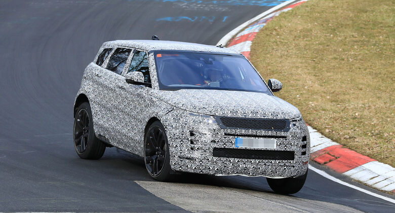 Erlkönig Range Rover Evoque