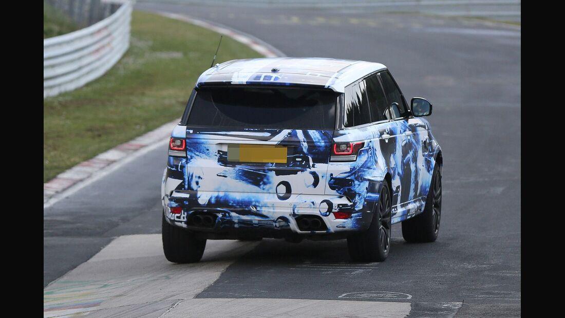 Erlkönig Range Rover Sport R-S
